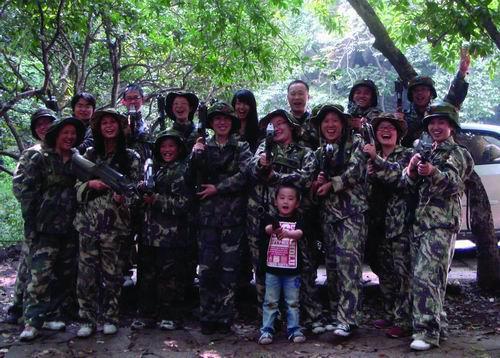 杭州:野战拓展训练