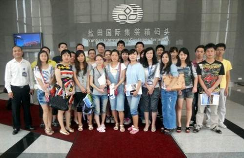 深圳:盐田码头参观学习