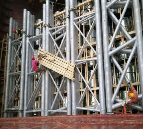 锦程完成巴哈吉体育场钢结构运输项目